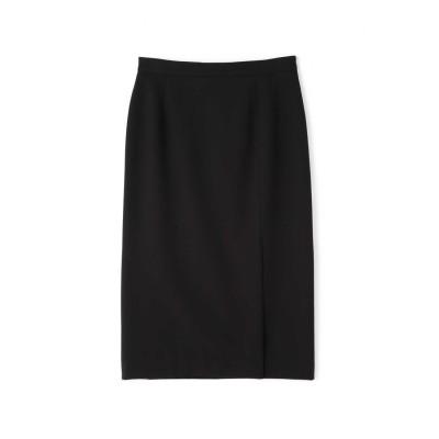 ◆T/R裏起毛セットアップスカート ブラック