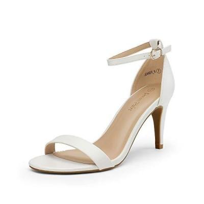 DREAM PAIRS レディース Jenner Stilettos オープントゥパンプス ローヒールサンダル US サイズ: 9 並行輸入品 送料無料