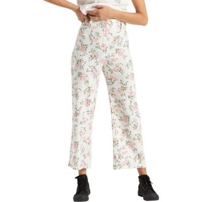 ビラボン BILLABONG レディース クロップド ボトムス・パンツ Back At It Floral Crop Pants Cool Wip
