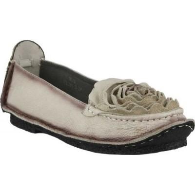 スプリングステップ L'Artiste by Spring Step レディース スリッポン・フラット シューズ・靴 Dezi Slip-On Natural Leather