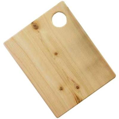 カッティングボード ルーター加工 無塗装白木 w26d2h32cm ピザサービングボード 木製 ひのき 受注製作