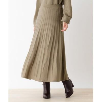 WORLD ONLINE STORE SELECT / 【WEB限定LLサイズあり】【毛玉になりにくい】ニットスカート WOMEN スカート > スカート
