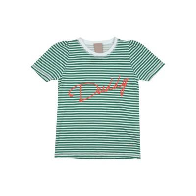 プラスピープル (+) PEOPLE T シャツ グリーン 8 コットン 100% T シャツ