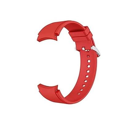 【並行輸入品】Silicone Band Compatible with Samsung Galaxy Watch 4 40mm 44mm Band Watch4