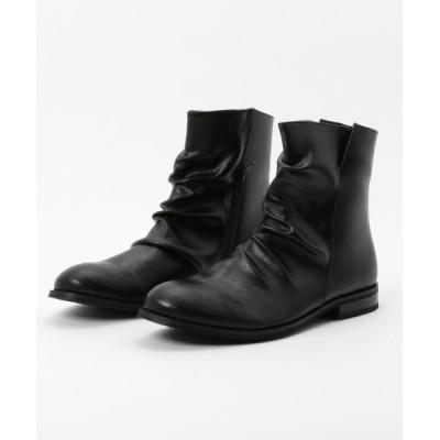 STYLEBLOCK / サイドジップドレープぺコスブーツ MEN シューズ > ブーツ