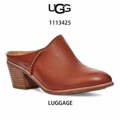 UGG(アグ)レディース レザー サンダル サボ ヒール 1113425