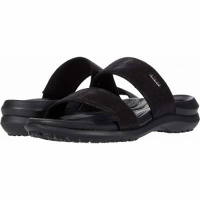 クロックス Crocs レディース サンダル・ミュール シューズ・靴 Capri Dual Strap Sandal Black