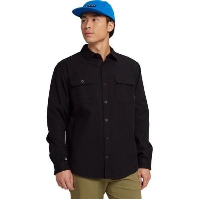 バートン Burton メンズ シャツ フランネルシャツ トップス Brighton Premium Flannel Shirt True Black
