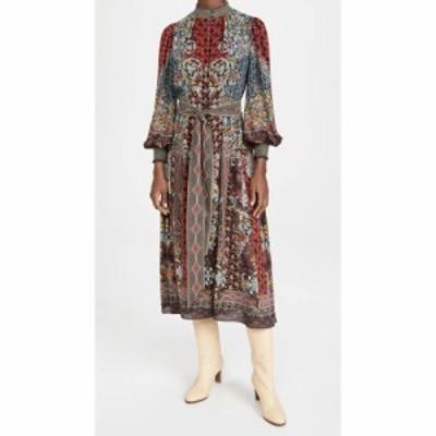 アリス アンド オリビア alice + olivia レディース ワンピース ボタンダウン ドレスダウン Brielle Button Down Kimono Dress Always Fo