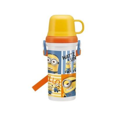ミニオンズ 直飲みコップ付きプラ水筒 キャラクター