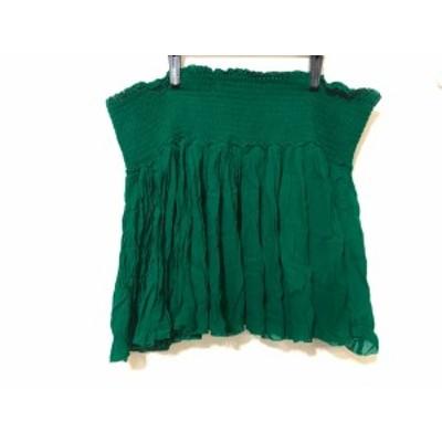 イザベルマランエトワール ISABEL MARANT ETOILE スカート サイズ42 L レディース グリーン【還元祭対象】【中古】20190815