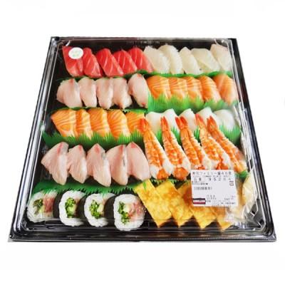 【 冷蔵・冷凍:EXPOデリバリー東京都心部のお届け限定】コストコ 寿司ファミリー盛48貫 ワサビ抜き(ネタは季節によって入れ替わります)