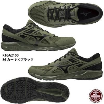 【ミズノ】MAXIMIZER 23 マキシマイザー23/ランニングシューズ/スニーカー/MIZUNO(K1GA2100) 86 カーキ×ブラック