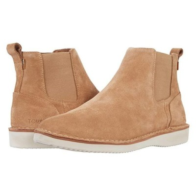 TOMS Skyline メンズ ブーツ Toffee Suede/Stitch Out