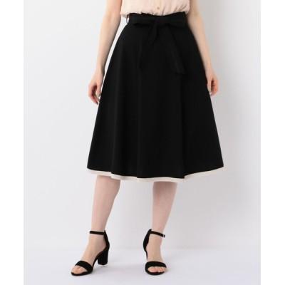 MISCH MASCH / レース切替リボン付スカート WOMEN スカート > スカート