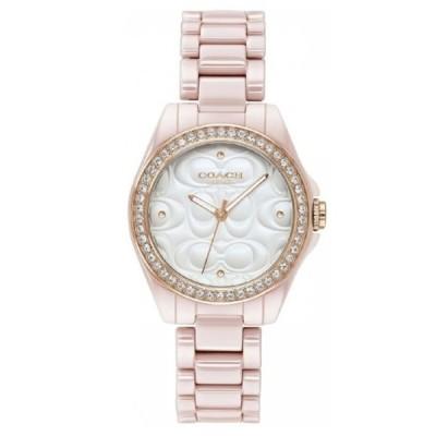 誕生日 女性 彼女 プレゼント かわいい 腕時計 レディース コーチ ピンク ブレスレット