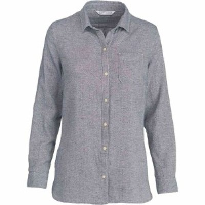 ウールリッチ Woolrich レディース ブラウス・シャツ トップス oak park eco rich twill shirt Neptune Herringbone