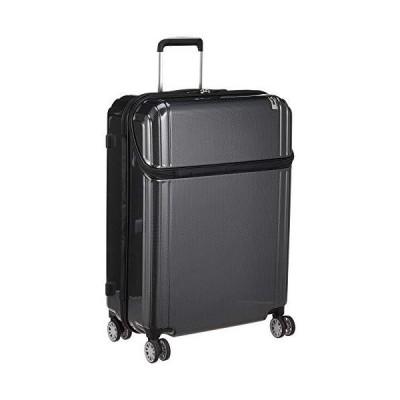 [トラベリスト] スーツケース トップオープン L 87L 71 cm 4.8kg ブラックカーボン