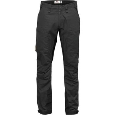 フェールラーベン メンズ カジュアルパンツ ボトムス Abisko Lite Trekking Trouser Dark Grey/Black