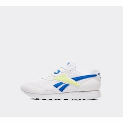 リーボック Reebok レディース スニーカー シューズ・靴 rapide mu trainer White/Blue/Lemon Zest
