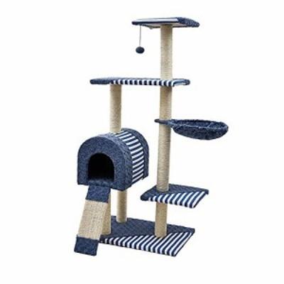 猫クライミングフレーム ペットは木製の猫クライミングフレームキャットツ (新古未使用品)