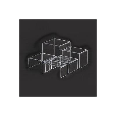 アクリルディスプレイ コの字展示台 30635 小小 100×100×H75mm