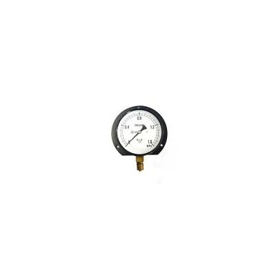 右下精器 汎用圧力計B100・G3/8 S−42・1.6MPA【日用大工・園芸用品館】