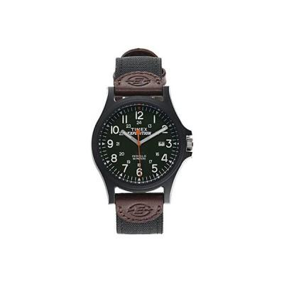 タイメックス Expedition Acadia Date 40mm Fabric Strap Watch メンズ 腕時計 時計 ファッションウォッチ Black