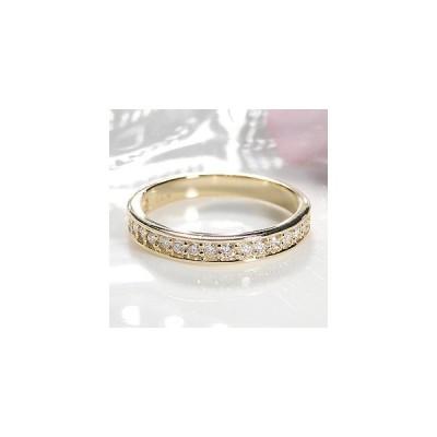 K18YG 「0.30ct」 ダイヤモンド エタニティリング ジュエリー 指輪 18金 ゴールド イエローゴールド 4月誕生石 ダイヤモンドリング FYR0022Y
