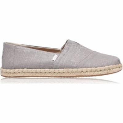 トムス Toms メンズ シューズ・靴 Alpargata Rope Pumps Grey