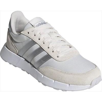 [adidas]アディダス レディース カジュアルシューズ RUN 60s 2.0 W (FZ0959)チョークホワイト/シルバーメタリック/ダッシュグレー[取寄商品]