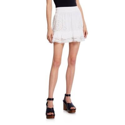 レイミー ブルック レディース スカート ボトムス Ebonie Eyelet Flounce Shirt Skirt