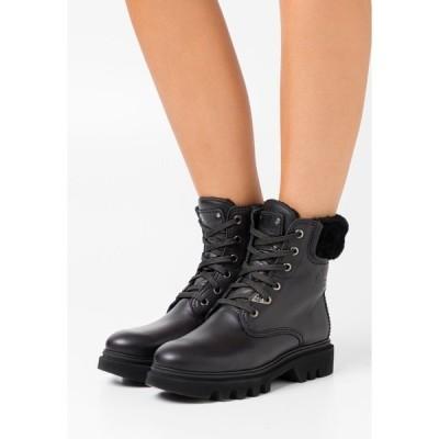 パナマ ジャック ブーツ&レインブーツ レディース シューズ TELMA IGLOO - Lace-up ankle boots - black