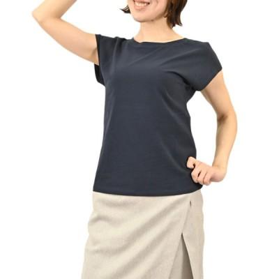 マックスマーラ ウィークエンド コットン ジャージー Tシャツ MAXMARA WEEKEND MULTIE 59411711000 4 ネイビー 2021年春夏