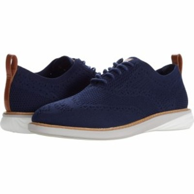 コールハーン Cole Haan メンズ 革靴・ビジネスシューズ シューズ・靴 Grand Evolution Stitchlite Oxford Blue