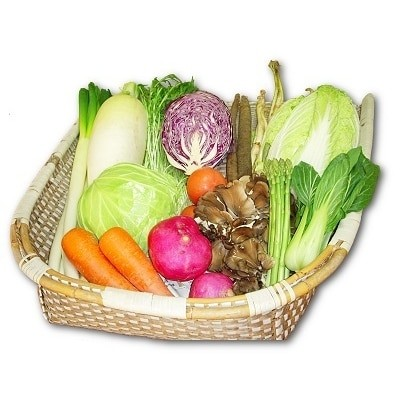 能代の恵み「地場野菜・果物・山菜」などの季節の詰合せ