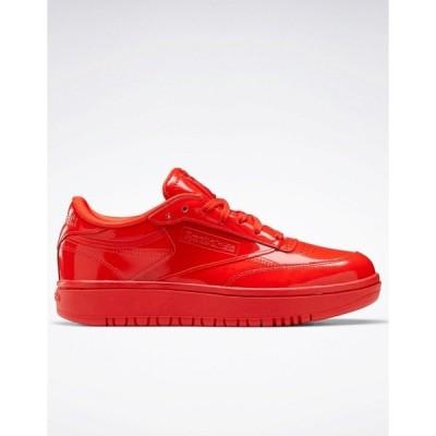 リーボック レディース スニーカー シューズ Reebok x Cardi B Club Cardi Coated Club C Double sneakers in red Red