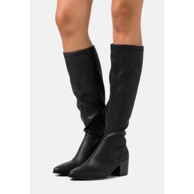 ビアンコ レディース ブーツ BIAABBIE LONG BOOT - Boots - black