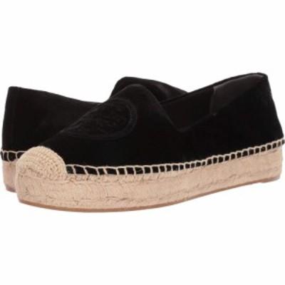 トリー バーチ Tory Burch レディース エスパドリーユ シューズ・靴 Velvet Platform Espadrille Perfect Black