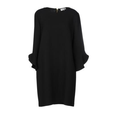 ロートレ ショーズ L' AUTRE CHOSE ミニワンピース&ドレス ブラック 46 ウール 100% ミニワンピース&ドレス