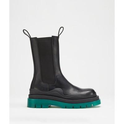 ボッテガヴェネタ BOTTEGA VENETA ショートブーツ ブーツ シューズ 靴 ブラック グリーン カーフレザー