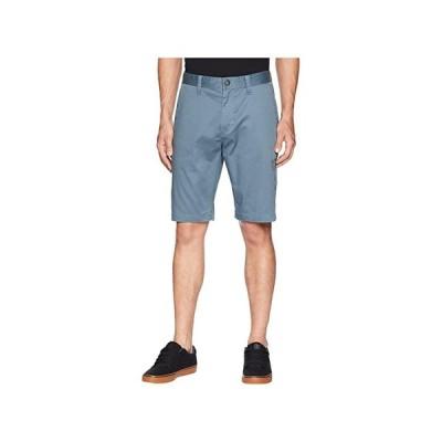 ボルコム Zap Frickin Mod Stretch Shorts メンズ 半ズボン Ash Blue
