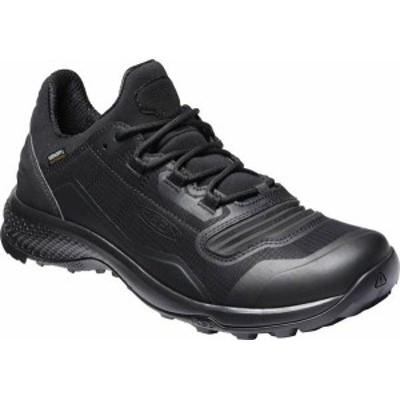 キーン メンズ スニーカー シューズ Tempo Flex Waterproof Hiking Sneaker Triple Black