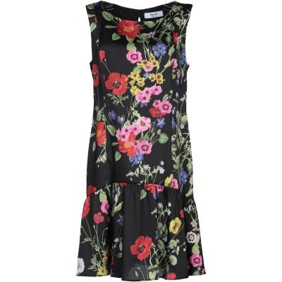 ブルーガール ブルマリン BLUGIRL BLUMARINE ミニワンピース&ドレス ブラック 46 ポリエステル 100% ミニワンピース&ドレス