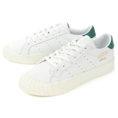 adidas(アディダス) EVRN W(エブリン ) CG6076 ホワイト/グリーン SALE