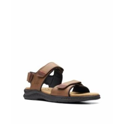 クラークス メンズ サンダル シューズ Men's Hapsford Creek Sandals Tan