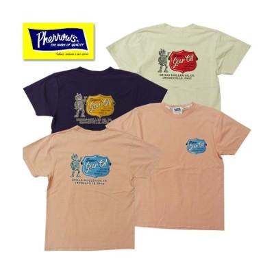 フェローズ Pherrow's Tシャツ 20S-PT4 プリント 2020年春夏新作 レターパックライト1枚まで対応