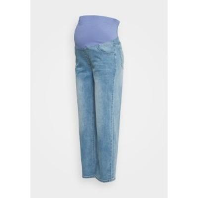 コットンオン レディース デニムパンツ ボトムス MATERNITY STRETCH STRAIGHT OVER BELLY - Straight leg jeans - blue blue