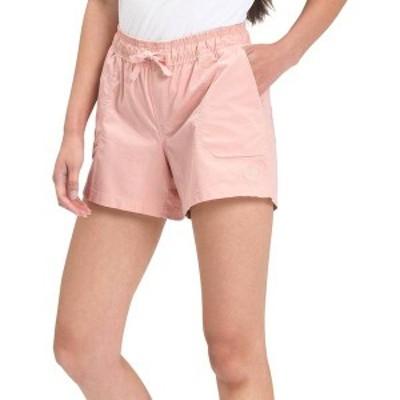 ノースフェイス レディース ハーフパンツ・ショーツ ボトムス The North Face Women's Motion Pull-On Shorts Evening Sand Pink