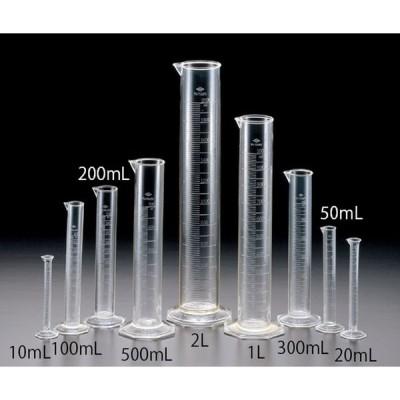 TPX(R)メスシリンダー ポリメチルペンテン 10mL 1個